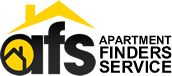 Apartment Finders Service (AFS) logo. Rent near UT Austin. North Campus and West Campus Apartments Available.